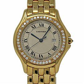 Cartier Cougar 887905 32mm Womens Watch