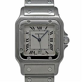 Cartier Santos Galbee W20060D6 29mm Womens Watch
