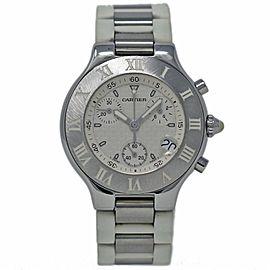 Cartier Must 21 W10184U2 38mm Mens Watch