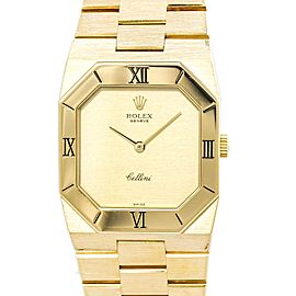 Rolex Cellini 4350 Vintage 27mm Mens Watch