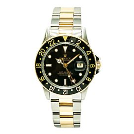 Rolex GMT Master 16753 Vintage 40mm Mens Watch