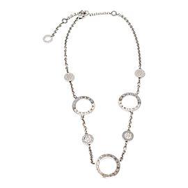 Bvlgari White Gold Diamond Necklace