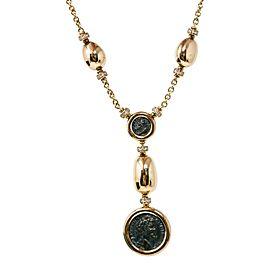 Bvlgari 18K Yellow Gold Diamond Necklace