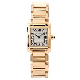 Cartier Tank Francaise W500264H 20mm Womens Watch