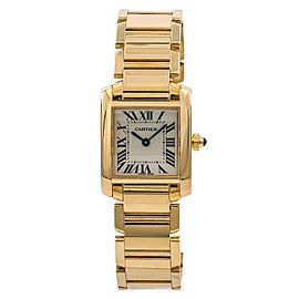 Cartier Tank Francaise W520065 20mm Womens Watch