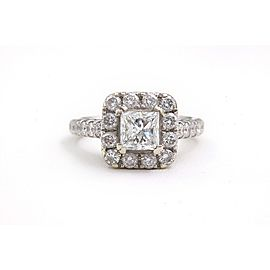 Neil Lane Diamond Engagement Ring Princess 2.00 TCW in 14K White Gold