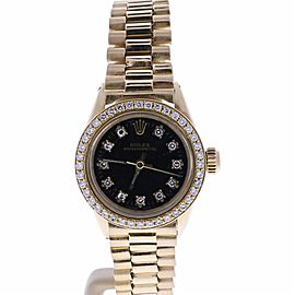Rolex Datejust 6619 Vintage 25mm Mens Watch