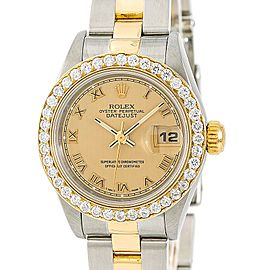 Rolex Datejust 69163 26mm Womens Watch