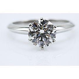 Tiffany & Co. Platinum Diamond Engagement Ring Size 6