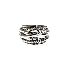 David Yurman Sterling Silver Ring Size 9