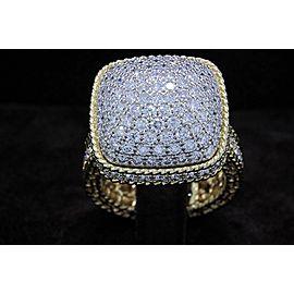 Roberto Coin 18K Yellow Gold Diamond Ring Size 6.5