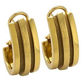 Tiffany & Co. 18K Yellow Gold Vintage Earrings