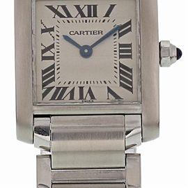 Cartier Tank Francaise 2384 20mm Womens Watch