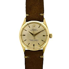 Rolex Oyster Perpetual 34mm Mens Watch
