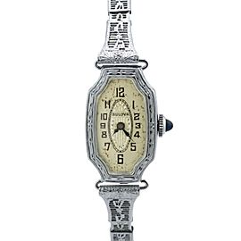 Bulova Vintage 15mm Womens Watch