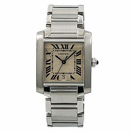 Cartier Francaise W51002Q3 28.0mm Mens Watch