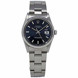 Rolex Date 15000 Vintage 34mm Womens Watch