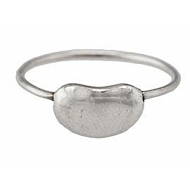 Tiffany & Co. 925 Sterling Silver Elsa Peretti Bean Ring Size 4.5