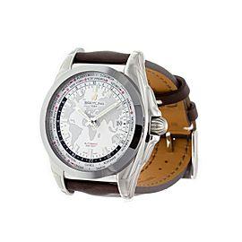 Breitling Galactic Unitime WB3510U0/A777 44mm Mens Watch