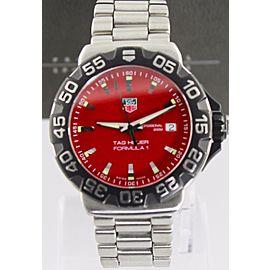 Tag Heuer Formula 1 WAH1112.BA0850 40mm Mens Watch