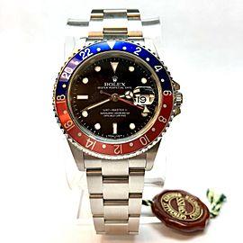 Rolex GMT-Master II 40mm Mens Watch