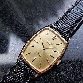 Rolex Cellini 3807 26mm Mens Watch