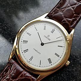 Concord San Remo Vintage 34mm Mens Watch