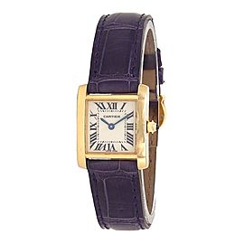 Cartier Tank Francaise 2385 20mm Womens Watch