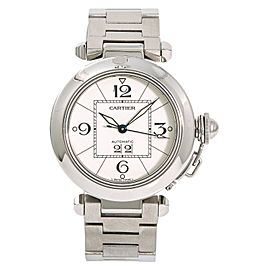 Cartier Pasha W31055M7 35mm Womens Watch