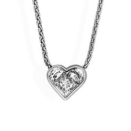 Bulgari 18K White Gold Diamond Necklace