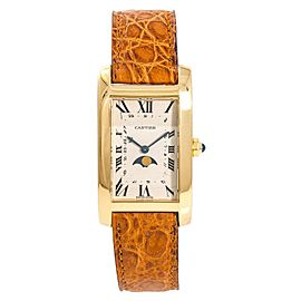 Cartier Americaine 1980 23mm Mens Watch