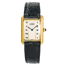 Cartier Vermeil 590005 23mm Womens Watch