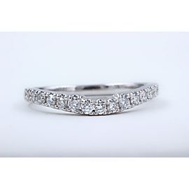 Neil Lane 14K White Gold Diamond Wedding Ring Size 6.5