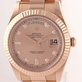 Rolex Day-Date II 218235 41mm Mens Watch