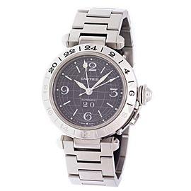Cartier Pasha C GMT W31049M7 35mm Unisex Watch