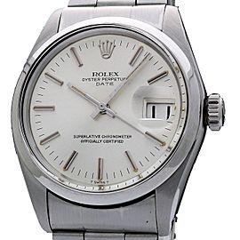 Rolex Date 1500 34.0mm Mens Watch
