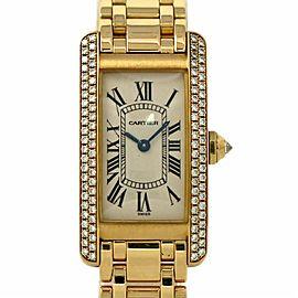 Cartier Americaine WB7043JQ 19.0mm Womens Watch