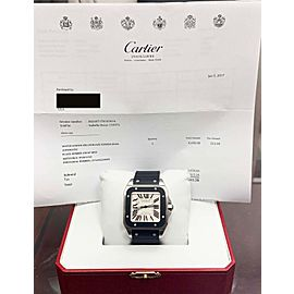 Cartier Santos 100 38mm Mens Watch