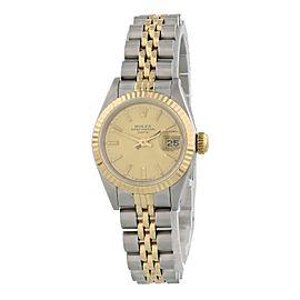 Rolex Date 69173 26.0mm Womens Watch