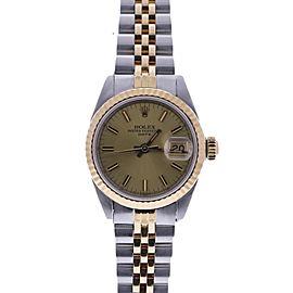 Rolex Date 69173 26mm Womens Watch