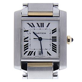 Cartier Francaise 2302 31mm Mens Watch