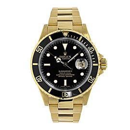 Rolex Submariner 16618 40.00mm Mens Watch