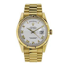 Rolex Date 18238 36.00mm Mens Watch