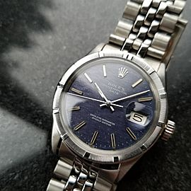 Rolex Oyster Perpetual Date 1501 Vintage 35mm Mens Watch