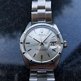 Rolex Oyster Perpetual Date 1501 Vintage 34mm Mens Watch
