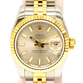 Rolex Datejust 179173 25mm Womens Watch