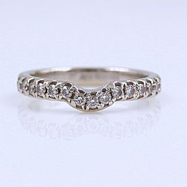 Neil Lane 14K White Gold Diamond Wedding Ring Size 4