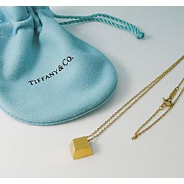 Tiffany & Co. 18K Yellow Gold Pendant