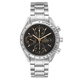Omega Speedmaster Date Black Dial Steel Mens Watch 3513.54.00 Box Card