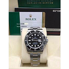 Rolex Submariner 116610 40mm Mens Watch